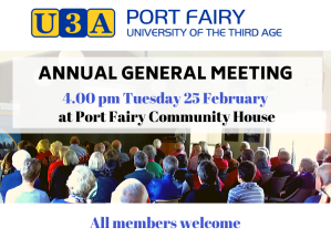 ANNUAL GENERAL MEETING 4.00 pm Tuesday 25 February copy